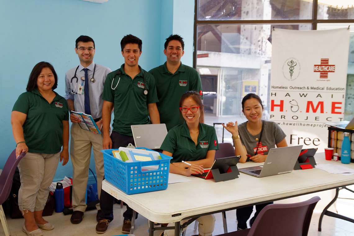 Medical team at FUMC