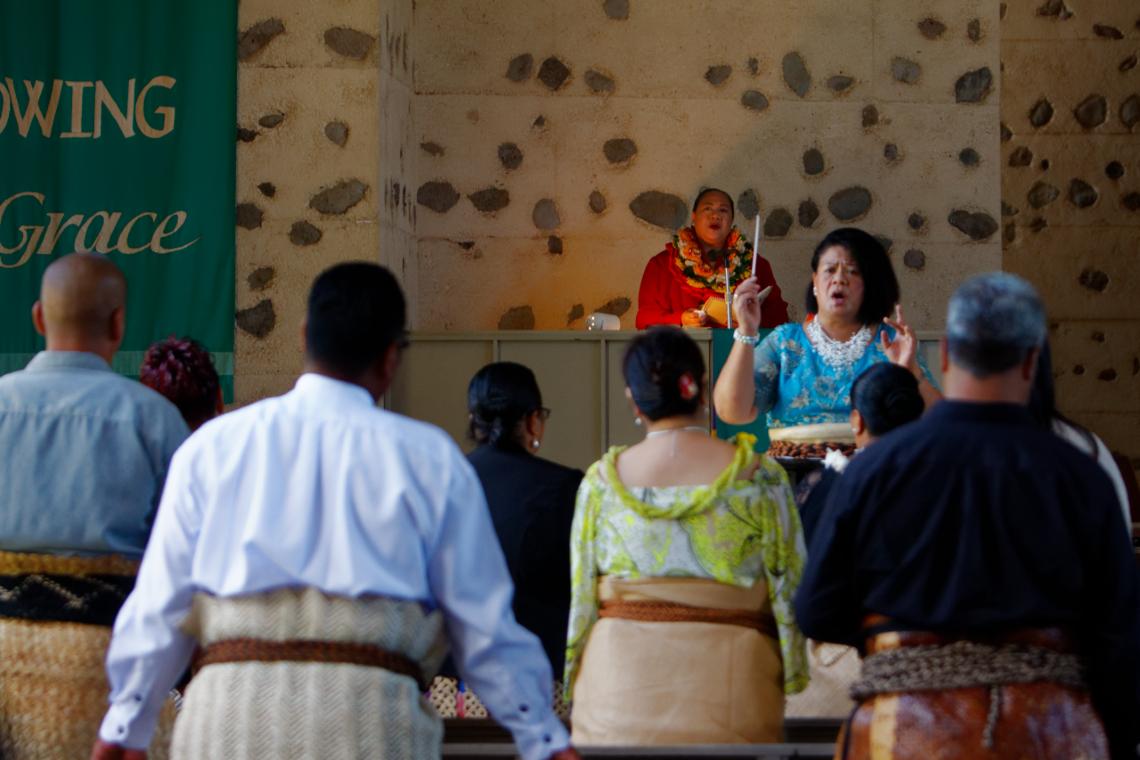 Tongan Service at FUMC
