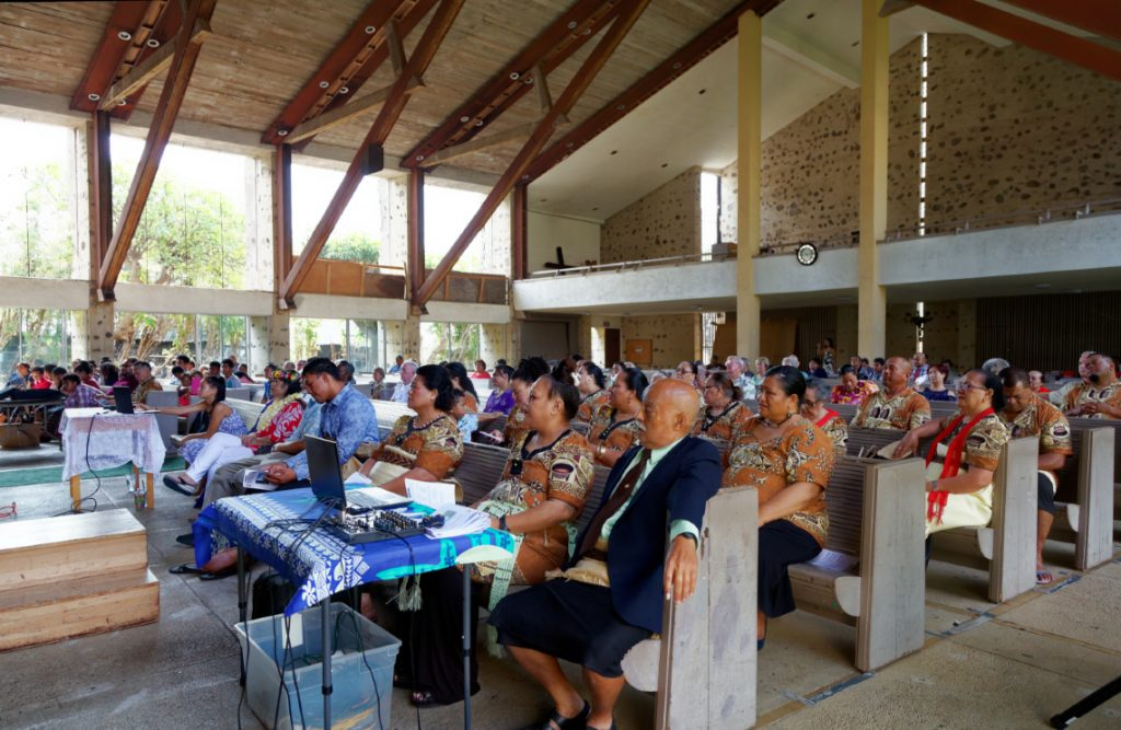 Tongan English Combine Service at FUMC